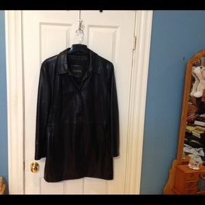 Jackets & Blazers - GENUINE LEATHER JACKET